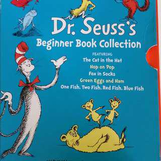 VALUE BUY ! Dr Seuss's Beginner Book Collection Set of 5 books