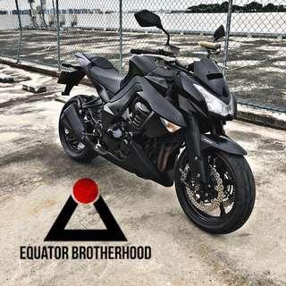 Kawasaki Z1000 Matt Black Used