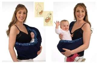 New Born Baby Sling Pouch Wrap Carrier