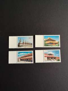 A122 2000-9塔尔寺特种邮票4全