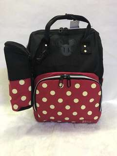 [SISA 4 pcs motif pertama!] New Upgrade Mickey Diaper Bag