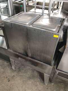 Gas water boiler