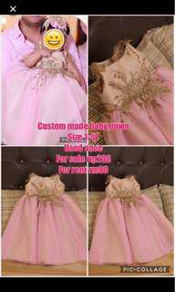 Custom made princess gown