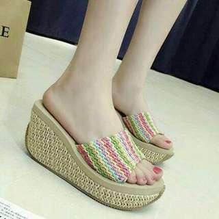 Sandal wedges 074
