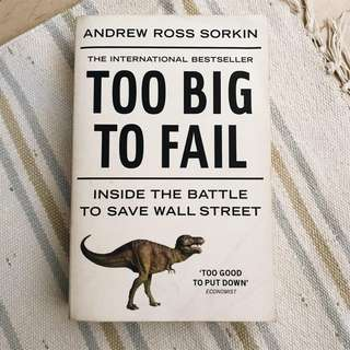Too Big To Fail: Inside the Battle to Save Wall Street (Paperback)