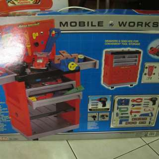 REDBOX MOBILE WORKSHOP FOR BOYS 3+Y.O NEW