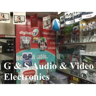 G & S Audio & Video Electronics