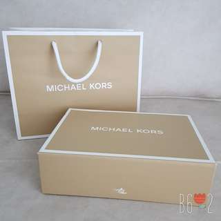Michael Kors Gift Box & Paper Bag