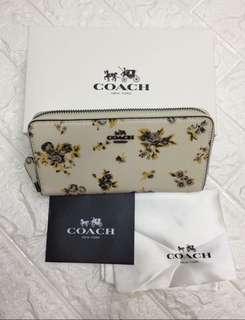 Coach Wallet Floral