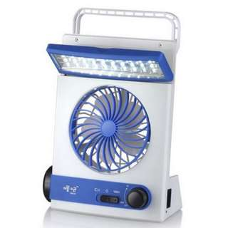 JR-5591 SOLAR LIGHT FAN