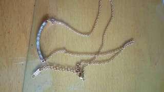 🚚 14k 水鑽項鍊