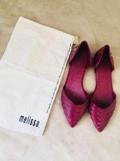 Melissa - Maroon Flats