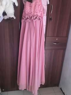 Rustic Pink Gown