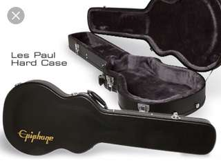 WTS Epiphone Les Paul Hard Case