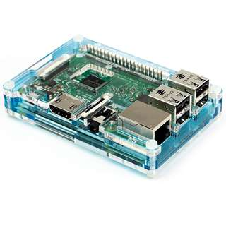 55.Pibow 3 Coupé Flotilla. The slim, hackable, and attractive case for the Raspberry Pi!