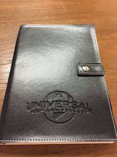 Collectible Writing Note Book 100th Anniversary Universal Studios