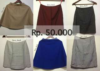 FAST SALE SKIRT ALL ITEM Rp. 50.000/pcs