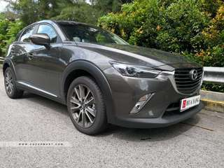MAZDA CX-3 SKYACTIV-G 2.0 6AT 2WD SR