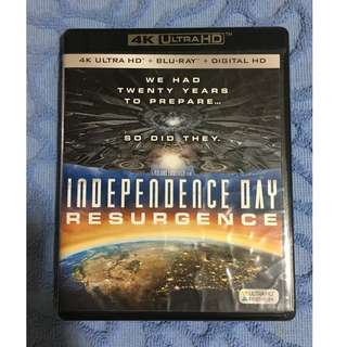 """(4K UHD) Independence Day Resurgence (2016)"" 4K Ultra HD Blu-ray"