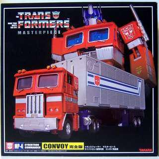 Takara Transformers Masterpiece MP04 Optimus Prime + Trailer MP-4 Collectables