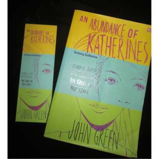 An Abundance Of Katherines (John Green) Bahasa Indonesia