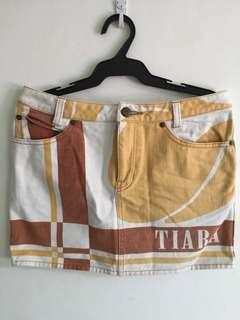Maong Mini Skirt