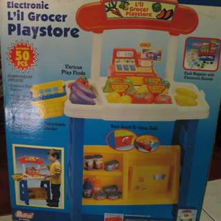 REDBOX ELECTRONIC LIL GROCER PLAYSTORE WORKSHOP FOR GIRLS 3+Y.O NEW
