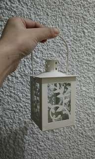 Iron & Glass Candle Lantern