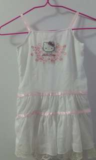 Hello kitty dainty dress 2.5-3.5yo girl