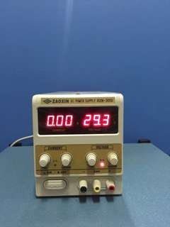 ZaoXin RXN-305D Digital DC Power Supply, 0-30V, 0-5A