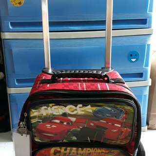 AUTHENTIC MCQUEEN TROLLEY BAG