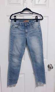 Joe's the blondie ankle jean pants