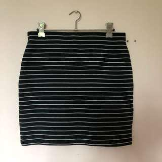 Zara Striped Skirt