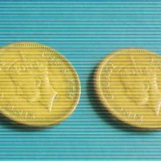 2 Hong Kong Coins