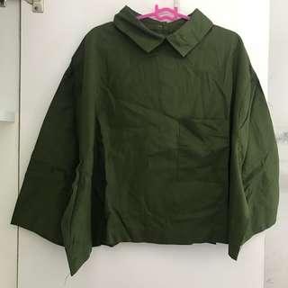 Army Crop Shirt