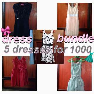 DRESS BUNDLE! 5 for 1000!