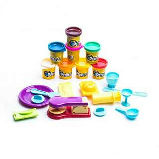 PEIPEILE Yummy Food Dough Set Colour Dough