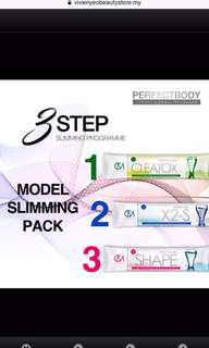 CM Less Model Slimming Step 1, 2 and 3