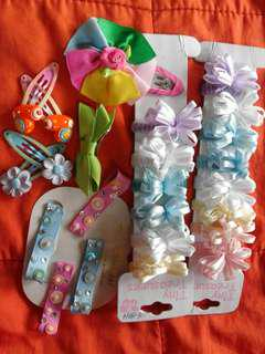 Take all! Baby girl's accessories