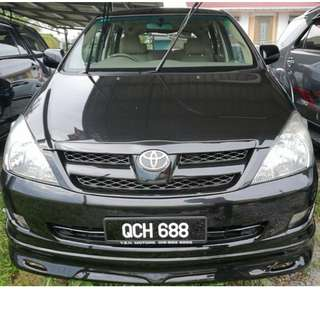 TOYOTA INNOVA 2.0E MANUAL 2008