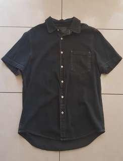 Topman Navy Shirt