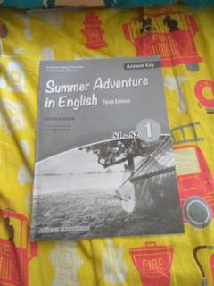 Summer Adventure in English1(S1 to S2)答案