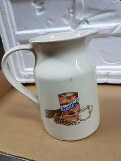 Vintage Ceramic Ovaltine pitcher jug