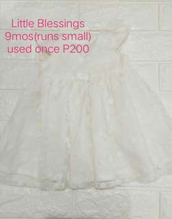 Little Blessings White Dress