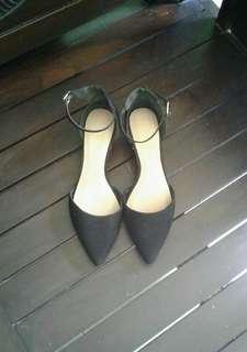Aldo Ankle Strap Low Heels