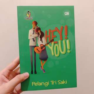 "Novel ""Hey! You!"""
