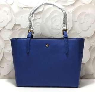 TB York Small Buckle Tote (Jelly Blue) size 29,5-38,5x23,5x12,5cm