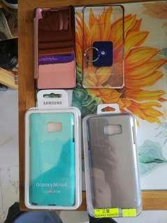 三星Note 5手機套(2個全新and 2個90%新)