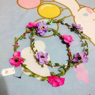 *NEW 2 Flower Crown