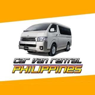 Car Van Rentals Philippines